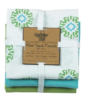 Meadow Sun Dish Towel Set