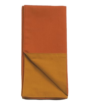 KayDee Gold & Rust Napkin - Set of Four