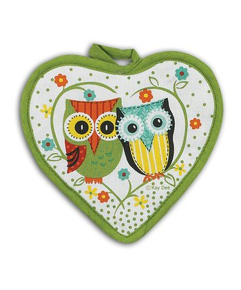 Owl Pot Holder - Set of Two