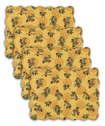 Olive Presse Place Mat - Set of Four