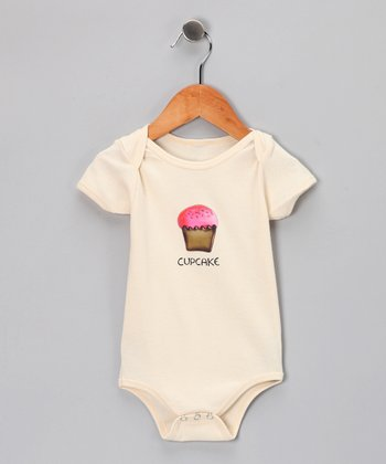 Natural 'Cupcake' Organic Bodysuit - Infant
