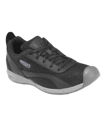 Black Auckland Lace Sneaker - Women