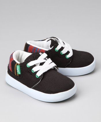 Black Thayer Plaid Ramos Sneaker