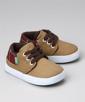 Field Tan Plaid Ramos Sneaker