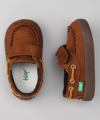 Keep Brown Benten Boat Shoe