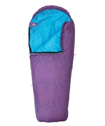 Purple & Aqua Little Dipper Sleeping Bag