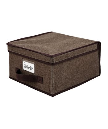 Espresso Medium Storage Box