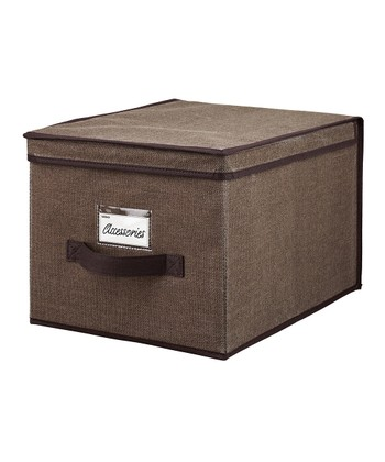 Espresso Large Storage Box