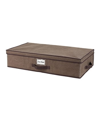 Espresso Underbed Storage Box