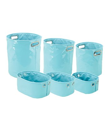 Tiffany Blue Basket Set