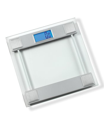 Silver Digital Bath Scale