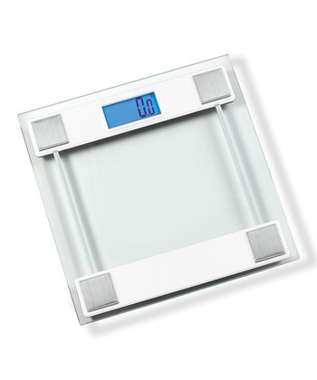 White Digital Bath Scale