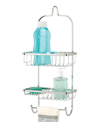 Chrome Two-Tier Shower Caddy