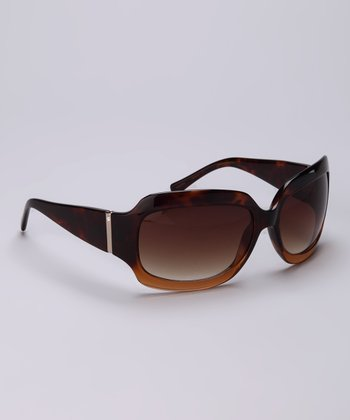 Havana Rectangular Sunglasses