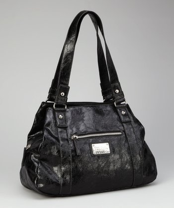 Kenneth Cole Reaction Black Shoulder Bag