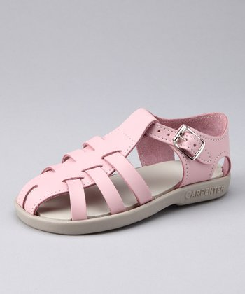 Pink Audrey Closed-Toe Sandal