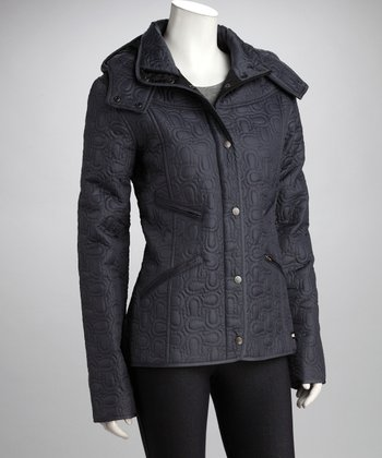 Kerrits Silver Shoe-In Quilted Jacket - Women