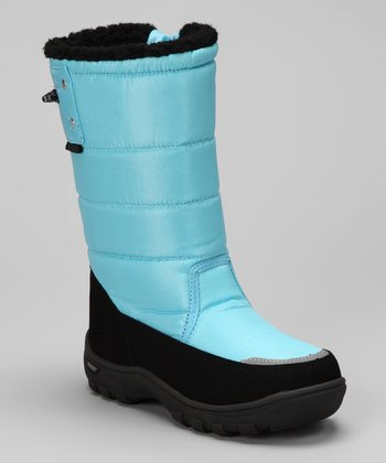 Khombu Moroccan Blue Snow Walker Boot