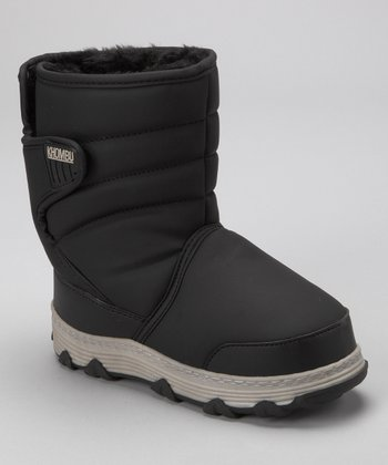 Khombu Black Traveler Boot