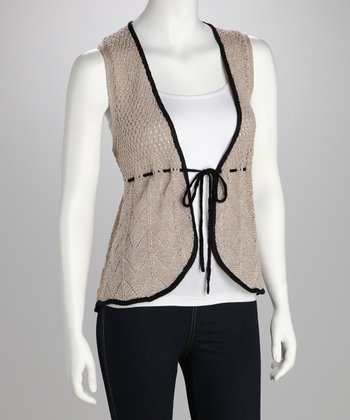 Stone Crocheted Vest