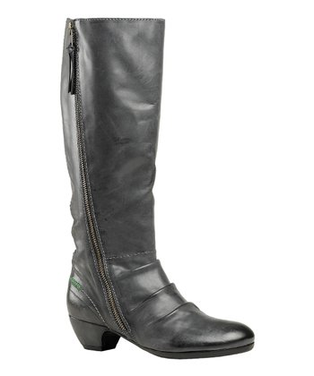 Darkish Gray El Soho Boot - Women