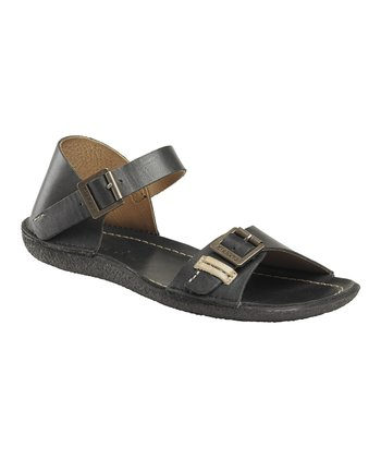 Black Pastille Sandal - Women