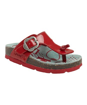 Red Magnetic Sandal