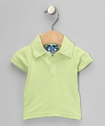 Spring Grass Short-Sleeve Polo - Infant