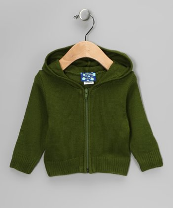 Moss Zip-Up Hoodie - Infant