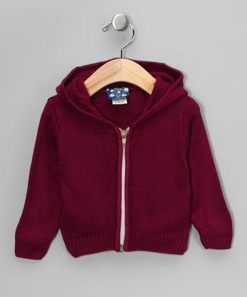 Orchid Zip-Up Hoodie - Infant
