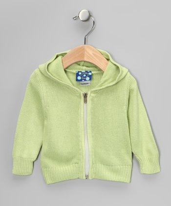 Spring Grass Zip-Up Hoodie - Toddler