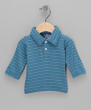 Twilight Stripe Bamboo Polo - Infant, Toddler & Boys