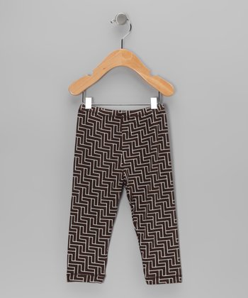 Bark Lattice Bamboo Pants - Infant & Toddler