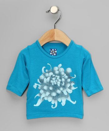 Dragonfly Chrysanthemum Tee - Infant