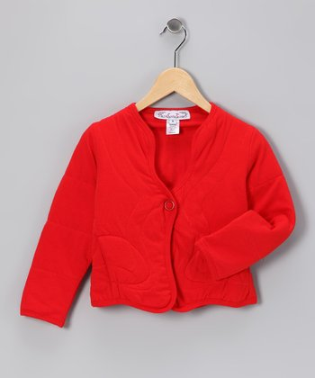 Red Suzy Jacket - Girls