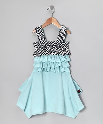 Mist Melinda Dress - Toddler & Girls