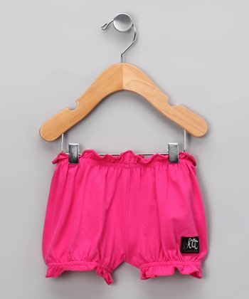 Raspberry Rosette Bloomers - Infant