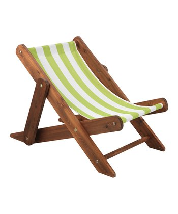 Espresso Outdoor Sling Chair