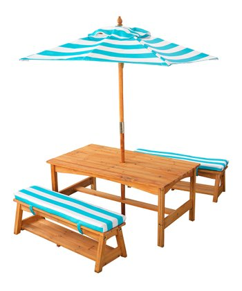 Under the Sun Table & Bench Set