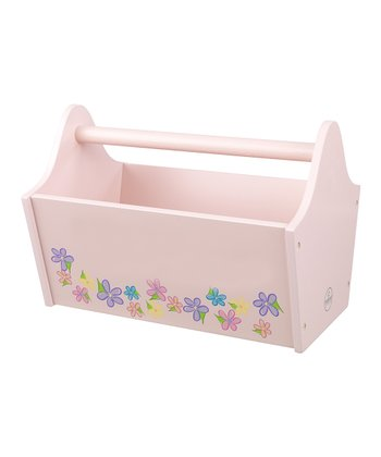 Floral Toy Caddy