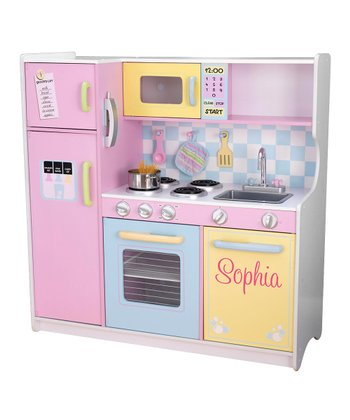 Personalized Pastel Kitchen
