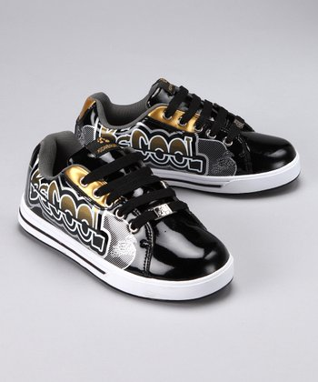 Black 'Be Cool' Sneaker