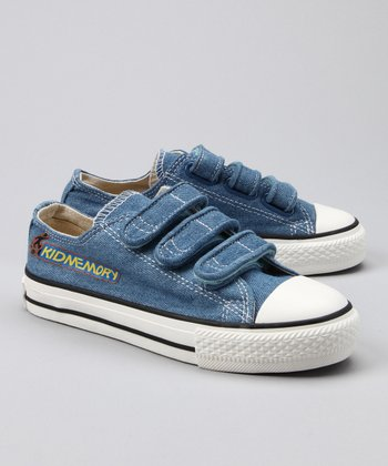 Denim Classic Three-Strap Sneaker