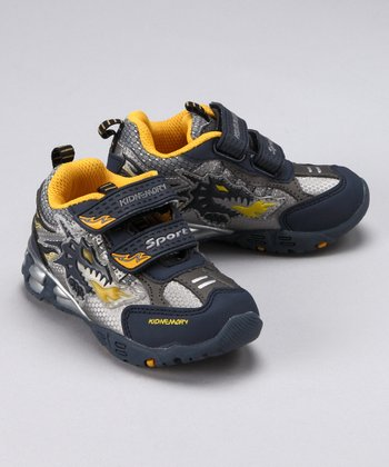 Navy & Yellow Dragon Sneaker