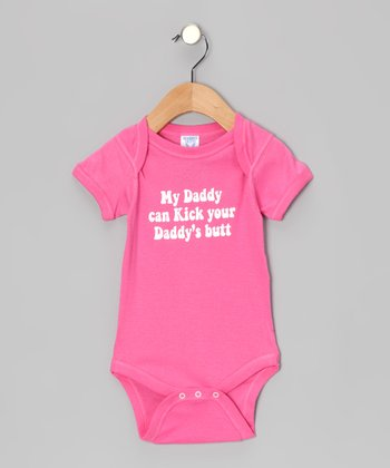 Raspberry 'My Daddy' Bodysuit - Infant