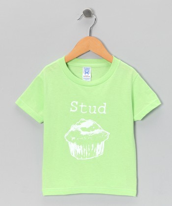 Key Lime 'Stud' Muffin Tee - Toddler