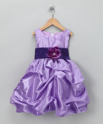 Lilac Fancy Bon Bon Dress - Infant, Toddler & Girls