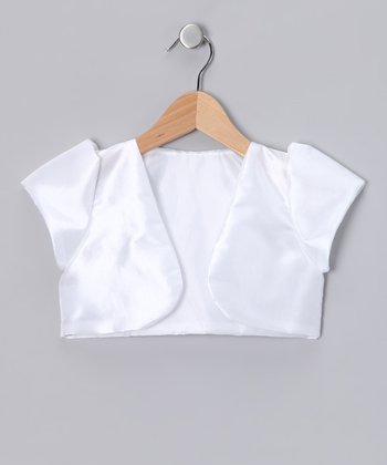 White Bolero - Infant, Toddler & Girls
