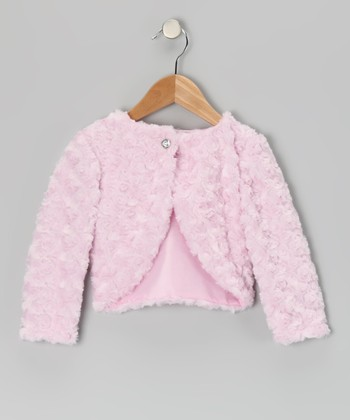 Pink Minky Bolero - Infant, Toddler & Girls