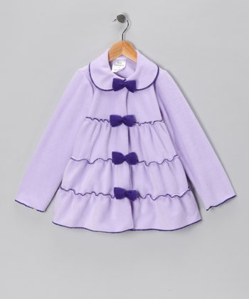 Lilac Tiered Jacket - Infant, Toddler & Girls